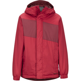 Marmot PreCip Eco Veste isolante Garçon, team red/brick